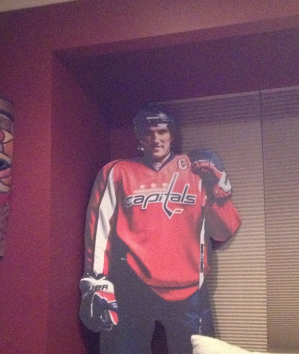 This Cutout plays better than the Rangers.