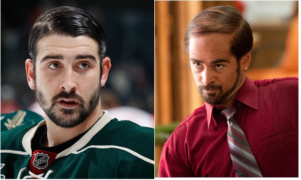 NHL Lookalikes: Cal Clutterbuck - Collin Ferrel as Bobby Plett