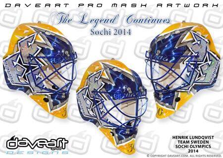 Hank's Olympic Mask: Straight FIre