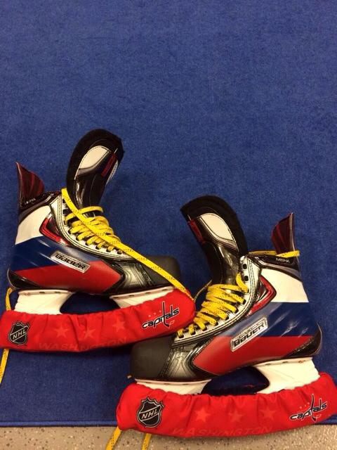 STRAIGHT FIRE: Ovechkin's Olympic Wheels